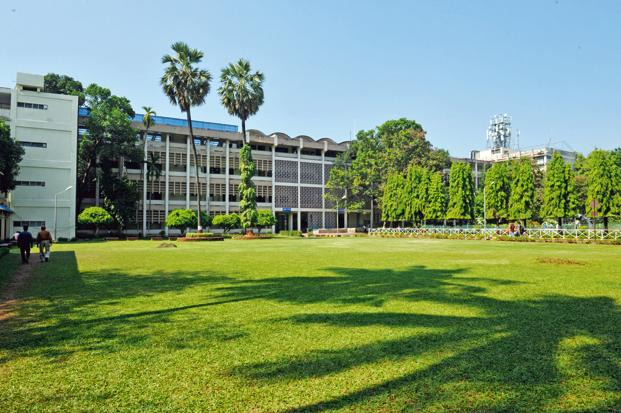 A file photo of the IIT Bombay campus. Of the total 36,566 rank holders, 31,996 were male and 4,570 were female.  Photo: Mint