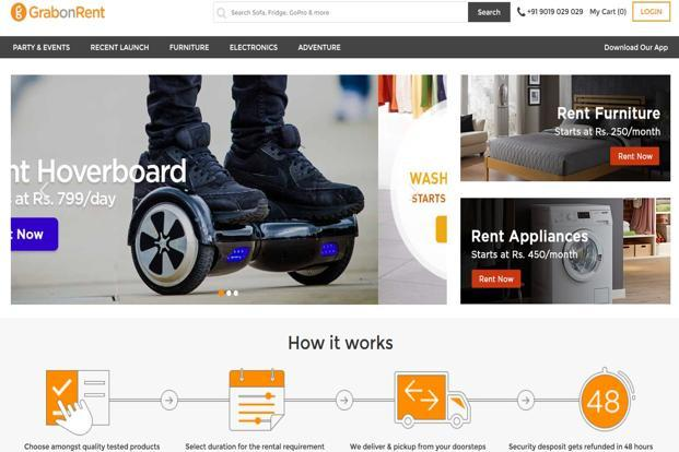 GrabOnRent focuses on connecting rental product suppliers with consumers, facilitating product discovery, quality assurance, smooth payments and logistics support.