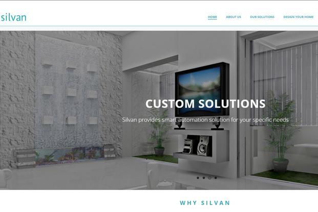 Silvan says its products are used to completely automate 2,000 homes.