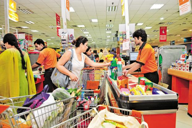 A study by market research agency Nielsen in May ranked the Indian consumer as the most confident in the March quarter among 63 countries surveyed, handing back the top position to the country after nine years. Photo: Ramesh Pathania/Mint