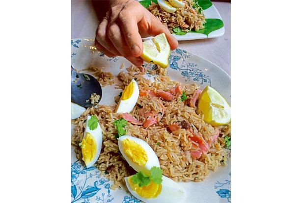 Make kedgeree with smoked salmon and eggs. Photo: Pamela Timms