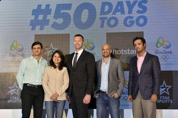 Star Sports has also exclusively created an elite panel of international and Indian Olympians as well as sports experts such as Ian Thorpe, Prakash Padukone, Anjali Bhagwat, Viren Rasquinha and Rehan Poncha who will analyse and connect with the Indian viewers as live action unfolds at the Olympics.  Photo: Aniruddha Chowhdury/Mint