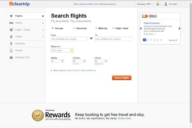 Image result for cleartrip funding