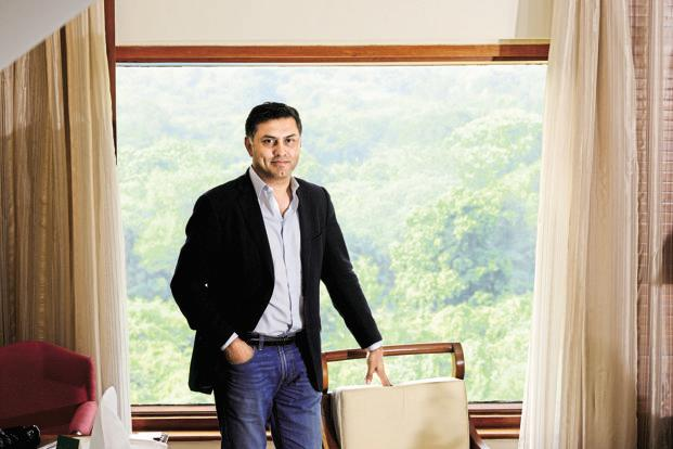 Nikesh Arora president and chief operating officer of SoftBank Corp. Photo: Pradeep Gaur/Mint