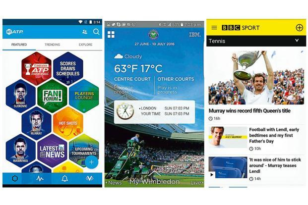 There are plenty of apps to enjoy the game of tennis on your phone.