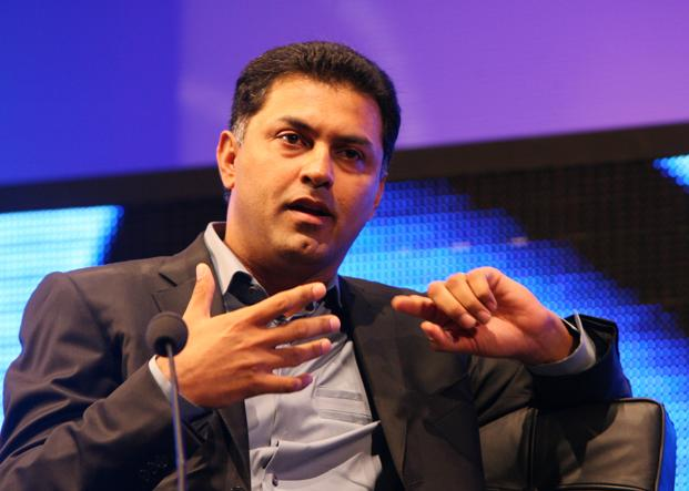 Nikesh Arora joined SoftBank in September 2014 with a bulge-bracket annual salary of $135 million. Photo: Bloomberg