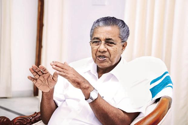 Image result for Kerala chief minister Pinarayi Vijayan