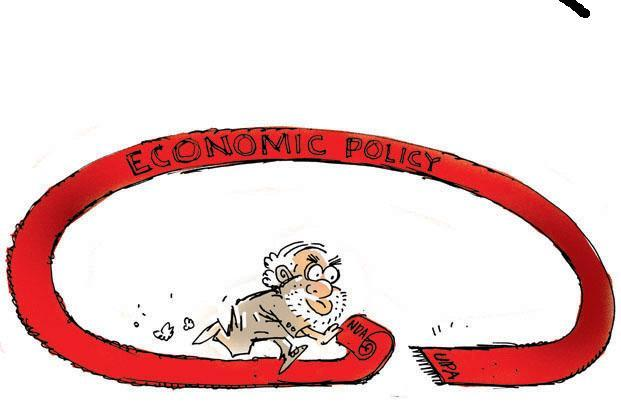 On the NDA's economic policy