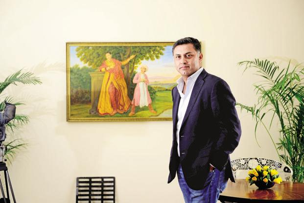 Nikesh Arora had been leading SoftBank's increasingly ambitious plans to invest in promising start-ups. Photo: Pradeep Gaur/Mint