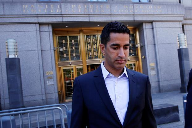 Sanjay Valvani, 44, was charged last week with illegally profiting on secret information about drugs in the US Food and Drug Administration's approval pipeline. Photo: Reuters