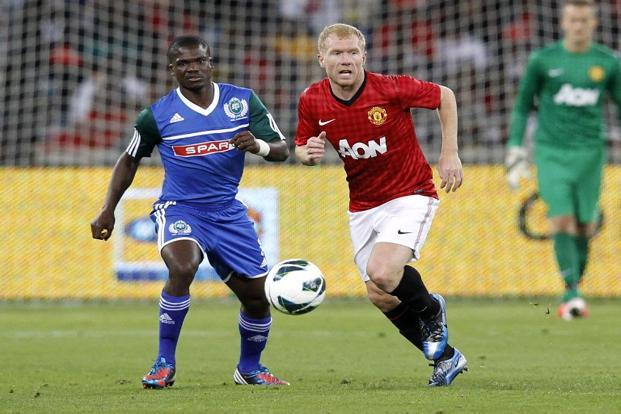 Paul Scholes (Right)represented Manchester United 718 times in a stellar 21-year-old career that began in 1992. Photo: AFP