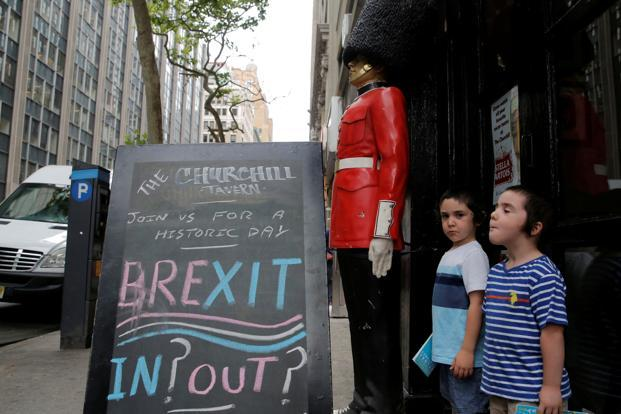 Early Brexit vote results shake  up global markets - Livemint