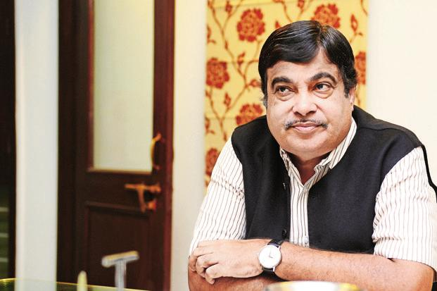 Transport minister Nitin Gadkari. Photo: Ramesh Pathania/Mint