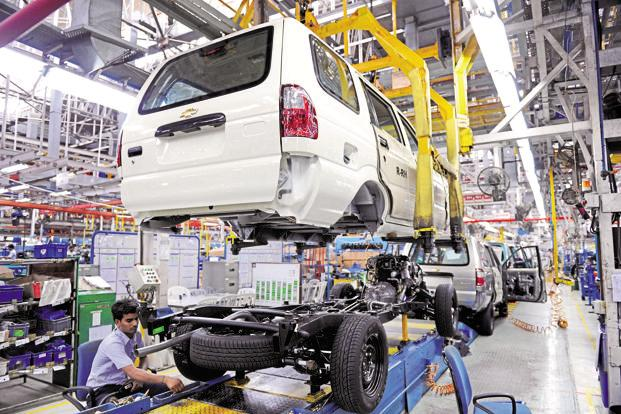 A file photo of General Motors India's plant at Halol. GM last week said it will extend production at its assembly plant until March 2017, while 'it continues to review future options for the site'. Photo:
