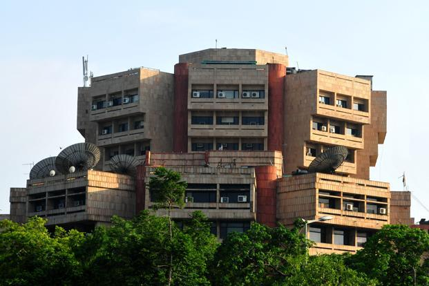 A file photo of the Prasar Bharati office in New Delhi. Photo: Ramesh Pathania/Mint