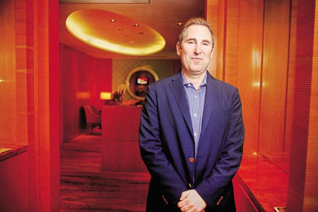 Andy Jassy, CEO of Amazon Web Services. Photo: Abhijit Bhatlekar/Mint