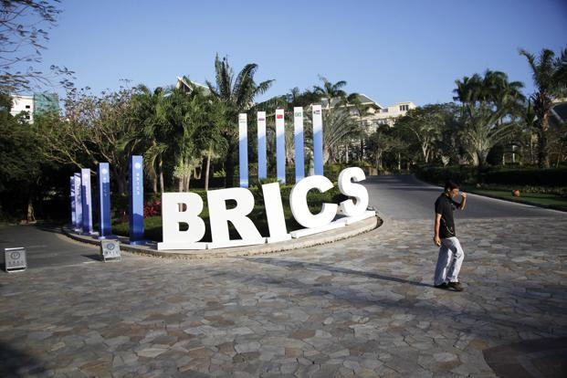 Brics countries together represent 42% of the world's population and their combined economic output exceeds $16 trillion. This is the second time that India is hosting a Brics summit, after the fourth in New Delhi in March 2012.  Photo: Bloomberg