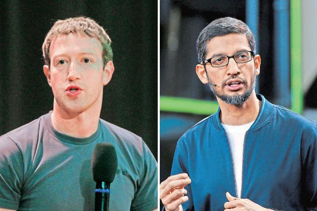 Google, Facebook fighting it  out for digital dominance in India -- seen as the last big market for Internet companies? - Livemint