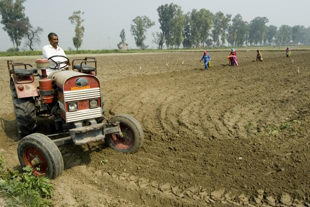 Data on tractor loans disbursement showed that loans advanced in 2015 were 8 times the volume in 2009, the last drought year preceding consecutive drought years in 2014 and 2015. Photo: Priyanka Parashar/Mint