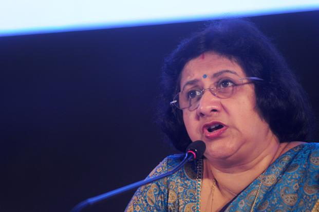 There were media reports that the government was looking at a proposal to extend the term of Arundhati Bhattacharya as chairperson of the SBI by a year after it ends in September. Photo: Indranil Bhoumik/Mint