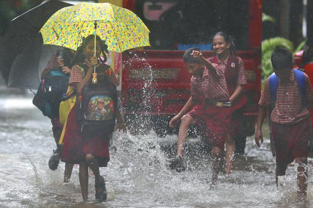 MeT department  says rains may continue in Mumbai as well as other parts of Maharashtra and Goa. Photo: AP