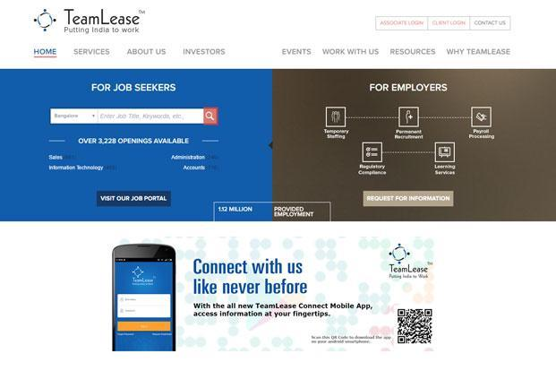 TeamLease acquires ASAP Info Systems for Rs 67 crore
