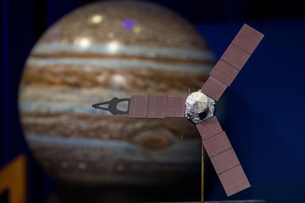 juno orbits jupiter after 2 8 billion km journey livemint