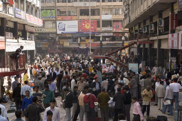 The electronics market at Nehru Place. Photo: