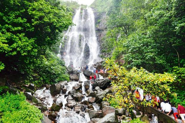 Waterfall At Amboli Ghat