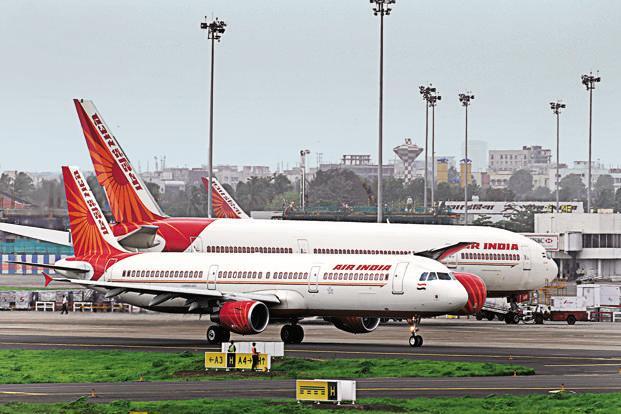 Now Fly Air India At Rajdhani Train Fare