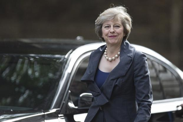 Theresa May, soon to become the new prime minister of UK joins the power club of ladies with short hair. Photo: AFP