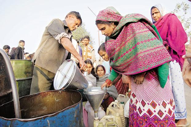 Under the pilot project, subsidy is transferred first to those below the poverty line even before purchasing the fuel to avoid any hardships. Photo: HT