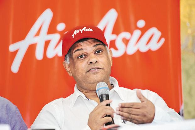 A file photo of AirAsia Group's chief executive officer Tony Fernandes. Photo: Mint