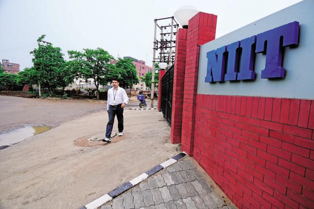 NIIT Technologies saw its revenues growing 4.5% to <span class='WebRupee'>Rs.</span>670.7 crore in the said quarter from <span class='WebRupee'>Rs.</span>642.1 crore in the April-June 2015 quarter, as per Indian Accounting Standard (IAS). Photo: Pradeep Gaur/Mint