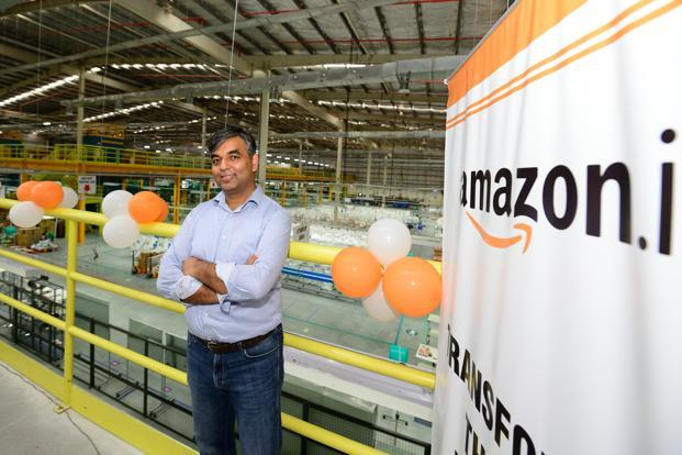 Amazon's fulfilment centre in Sonipat is 22nd warehouse in the country. Photo: Ramesh Pathania/Mint