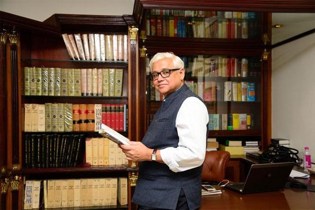 Amitav Ghosh latest book, 'The Great Derangement: Climate Change and the Unthinkable', is an extended essay of sorts on climate change. Photo: Ramesh Pathania/Mint