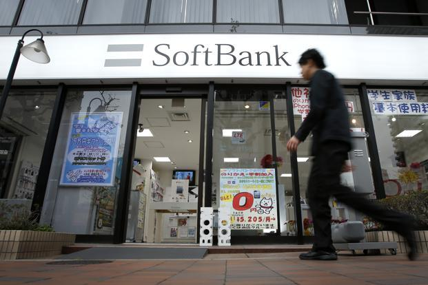 SoftBank's to buy ARM Holdings is the biggest deal since the Sprint purchase was announced in 2012, and it's being done at a premium of 43%. Photo: Bloomberg