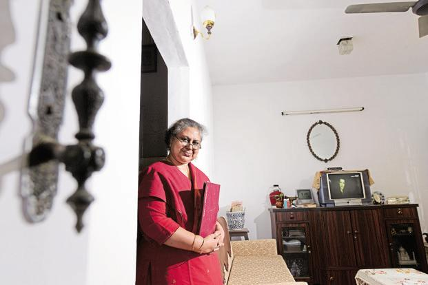 Abbas's first job as a ticket reservation agent in 1986 came after a newspaper ad led her to enrol in a year-long diploma in travel and tourism. Photo: Hemant Mishra/Mint