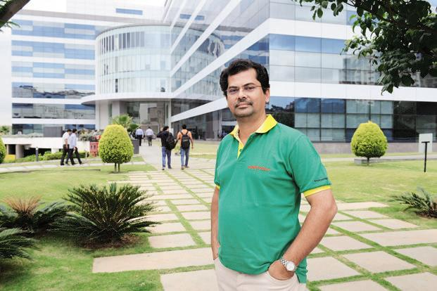 Edvin Varghese says Farmobi Technologies will not charge the farmer for uploading product information on the app. Photo: Hemant Mishra/Mint