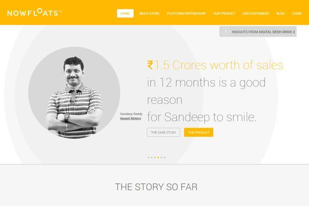 NowFloats wants to reach 1 million businesses and 10 million users by the end of the current financial year.