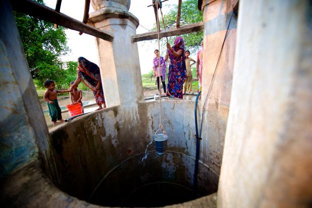 Tiliya village in Jalaun district of Uttar Pradesh had not received adequate rainfall for five years until the arrival of monsoon in June this year. The main source of drinking water for the villagers was the Pahuj river as the village wells dried up during the drought.