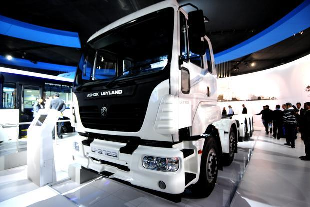 Ashok Leyland had posted a net profit of <span class='WebRupee'>Rs.</span>144.49 crore in the same period last fiscal, Ashok Leyland said in a BSE filing. Photo: Ramesh Pathania/Mint