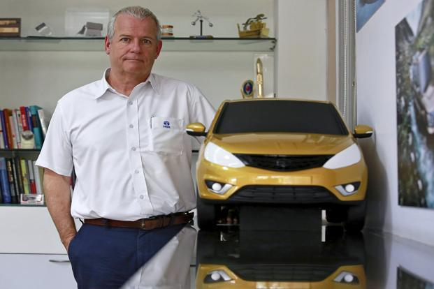 Tim Leverton of Tata Motors. Photo: Reuters