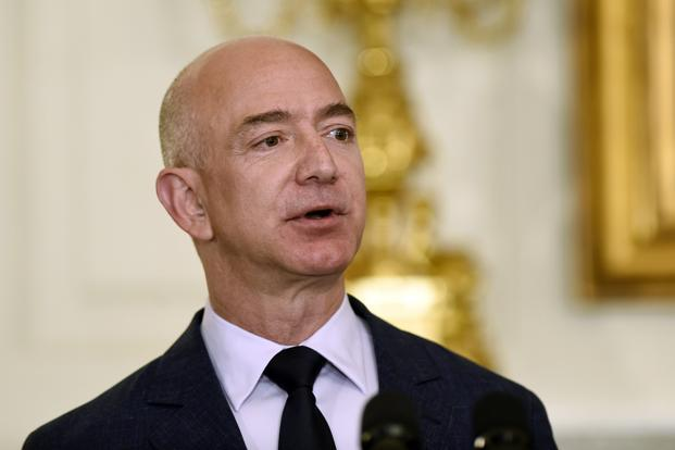 Jeff Bezos's wealth has increased by $5.4 billion this year. Photo: Susan Walsh/AP