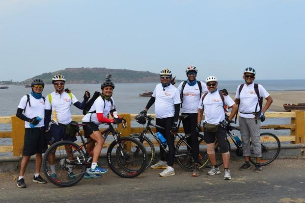 Mumbai to Goa cycling