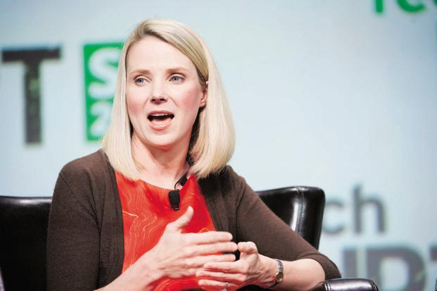 Marissa Mayer's high-profile takeover as Yahoo president in 2012 was unable to boost profitability in the long run in a cut-throat environment dominated by Google and Facebook. Photo: Bloomberg
