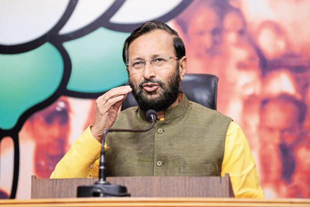 HRD Minister Prakash Javadekar defended the 122% fee hike in IITs announced in April 2016 saying that the underprivileged are protected from it. Photo: Mint