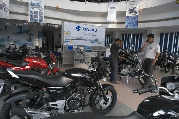 Overseas shipment of motorcycles and three-wheelers at the firm saw a sharp 22% decline to 370,649 units in the June quarter over the year-ago period. Photo: Mint