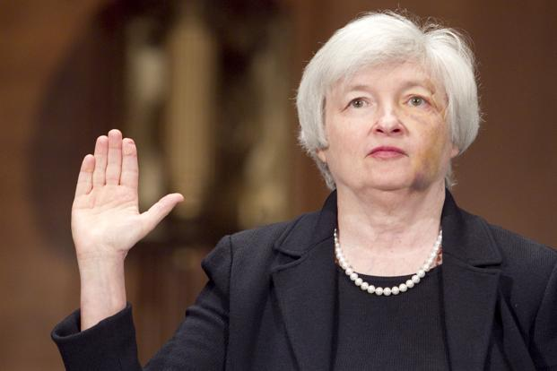 Janet Yellen, chair of the US Federal Reserve. Photo: Bloomberg