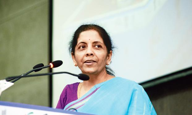 A file photo of commerce and industry minister Nirmala Sitharaman. Photo: Ramesh Pathania/Mint